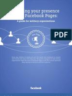 Guía para el uso de Facebook para Militares de los Estados Unidos. (DoD)