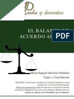 El Balance de Acuerdo Al NPGC