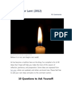 40 Ideas for Lent