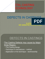 Defects in Castings-1