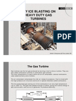 Gas Turbine Dry Ice (CO2) Cleanig