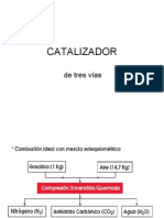 CATALIZADOR de TRES VÍAS