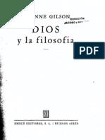 Gilson y Dios - Imprimir