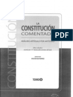 CDG - Comentarios al Art. 94 de la Constitución del Perú