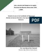 Despoblamiento y Acción de Estado en El Sudeste Bonaerense