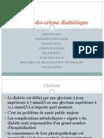PEC acido-cétose diabétique