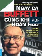 Ngay CA Buffett Cung Khong Hoan Hao - Smith.N Studio