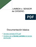 028 SONDA LAMBDA o  SENSOR de OXÍGENO 2