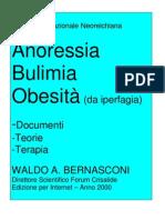 Psicologia - Anoressia Bulimia Obesità