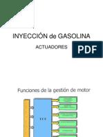 040 al INYECCIÓN de GASOLINA ACTUADORES