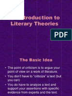 An Introductino to Literary Theories