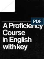 A Proficiency Course in English [With Key] F.v.bywater