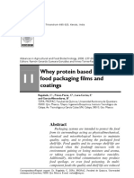 Whey Protein Based Edible Food Packaging Films and Coating