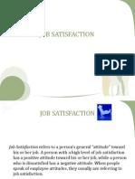 Job Satisfaction Presentation