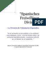 "Guerra Civil - División Azul""Spanisches Freiwilligen Division"""
