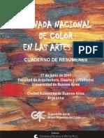 GAC Libro Color en las Artes 2011 hasta Prólogo