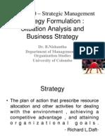 Session 5- Strategy Formulation(1)