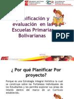 PRESENTACION PLANIFICACIÓN EN LAS ESCUELAS PRIMARIAS BOLIVARINAS