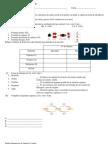 Prueba Diagnostica de Química 1 Medio