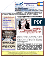COESGR Newsletter April 2012