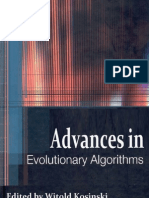 Advances Evolutionary Algorithms i to 08