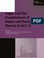 Logic and the Foundations of Game and Decision Theory