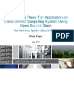 Three Tier Application Deployment on Ucs