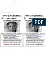 (2) WANTED Notify ICE ForeignNationalCriminalIllegalAlien