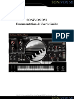 Sonivox Dvi User Guide