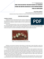 Traumatismo Dental (Decíduos)