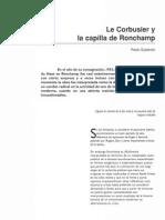 Le Corbusier Capilla de Ronchamp