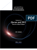 Quran.and.2012 Summary