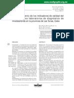 Comportamiento de los indicadores de calidad del cultivo en los laboratorios de diagnóstico de micobacterias en la provincia de Las Tunas_ Cubal