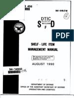 DoD 4140.27-M Shelf Life Management