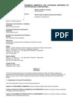 GUIA PARA O LICENCIAMENTO AMBIENTAL DAS ATIVIDADES MARÍTIMAS DE EXPLORAÇÃO E PRODUÇÃO DE PETRÓLEO E GÁS NATURAL