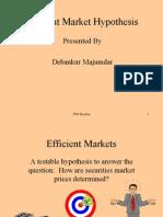 Efficient MKT Hypothesis