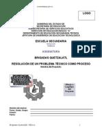 Resolución de Problema Técnico como un Proceso (Para llenar documento)
