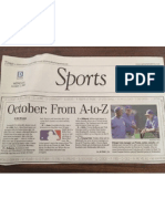 Spicing Up An AP Story On October