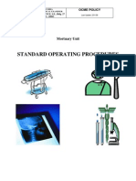 Mortuary Standard Operating Proceduresl08