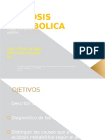 Acidosis Metabolica 2012