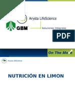 EL CULTIVO DEL LIMON-ARYSTA Y GBM