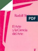 Steiner Rudolf El Arte y La Ciencia Del Arte OCR
