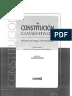 CDG-Comentarios al Art. 129 de la Constitución del Perú