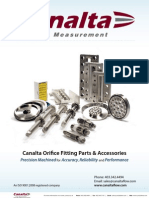Canalta Parts Info Sheet
