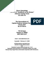 Pierce Genealogy 2012
