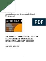 Aid Management Liberia