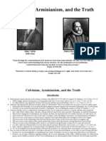 Calvinism, Arminianism, & the Truth ++
