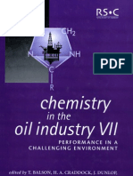 Chemistry of Oil Industry