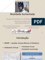 ApresentacaoGEAV-Anderson Carlos Moreira Tavares-Realidade Aumentada
