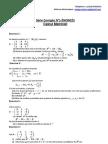 l1 Seg Math II Serie Corrigee n 1 Calcul Matriciel